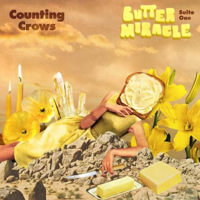 Counting Crows, Butter Miracle, Suite One, album cover